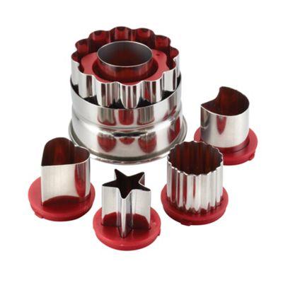 Cake Boss 6 piece classic linzer cutters - . -