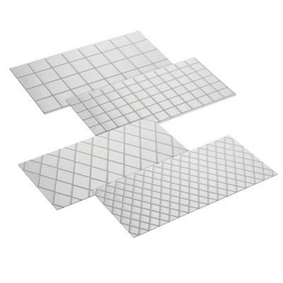 Cake Boss 4 piece fondant imprint mats - -