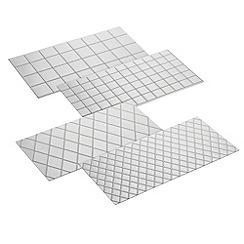 Cake Boss - 4 piece fondant imprint mats