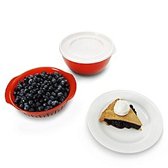 OXO - GG 3 piece berry bowl set red