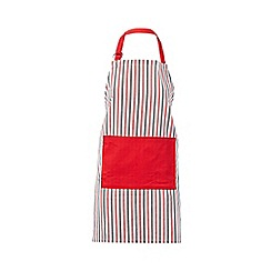 Debenhams - Red striped apron