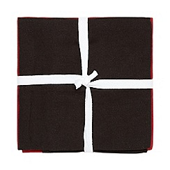 Debenhams - Set of three assorted plain and striped tea towels