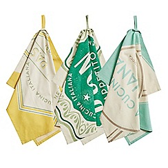 Jamie Oliver - Retro set of 3 tea towels