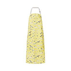 Ben de Lisi Home - Yellow dog print apron