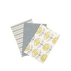 Home Collection - Multi-coloured set of three tea towels