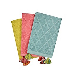 Butterfly Home by Matthew Williamson - Set of three assorted hand towels
