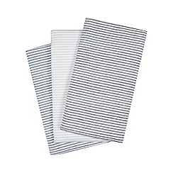 J by Jasper Conran - Set of three multi-coloured hand towels