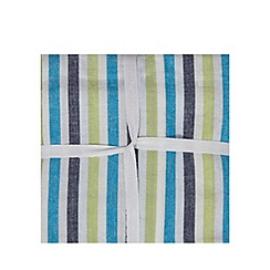 Home Collection - Set of three assorted plain and striped tea towels