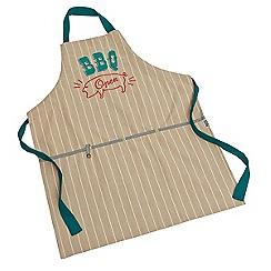 Jamie Oliver - 'BBQ' open stripe apron