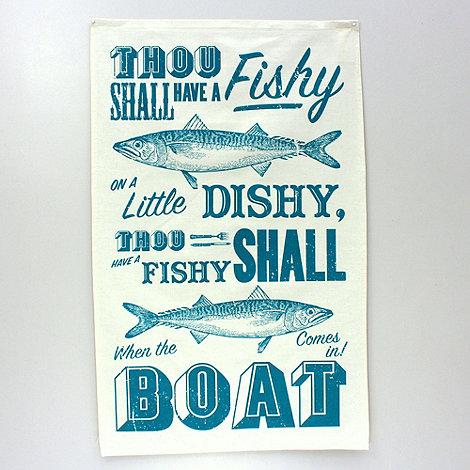 ToDryFor - Sea Shanty Tea Towel