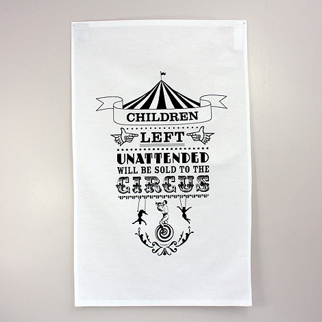 ToDryFor - The Bearded Lady Tea Towel