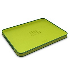 Joseph Joseph - Cut&Carve Plus small chopping board in green