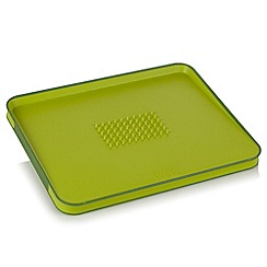 Joseph Joseph - Cut&Carve Plus large chopping board in green