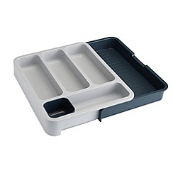 Joseph Joseph - DrawerStore expandable cutlery tray in grey