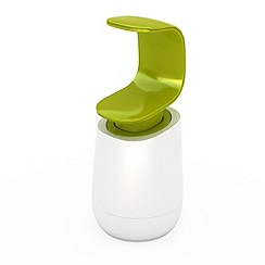 Joseph Joseph - C-Pump soap dispenser in white and green