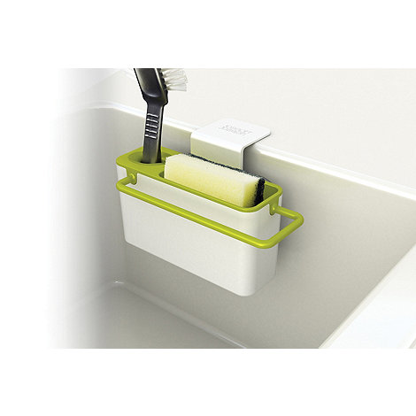 Joseph Joseph - Sink-Aid in-sink caddy in white and green