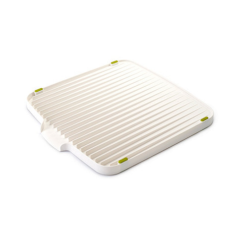 Joseph Joseph - Flip double sided draining board in white and green