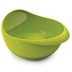 Joseph Joseph - Prep&Serve large multi-function bowl with integrated colander in green