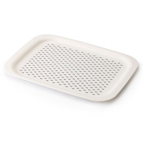 Joseph Joseph - Grip Tray small non-slip tray in white