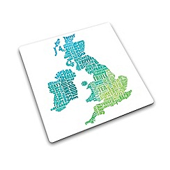 Joseph Joseph - Worktop Saver multi-purpose board with UK gastronomy map design