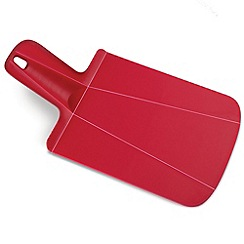 Joseph Joseph - Chop2Pot Plus mini folding chopping board in red