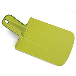 Joseph Joseph - Chop2Pot Plus mini folding chopping board in green