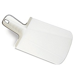 Joseph Joseph - Chop2Pot Plus mini folding chopping board in white