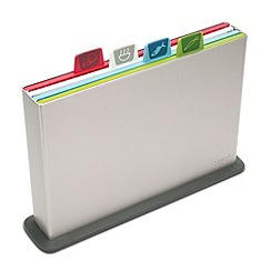 Joseph Joseph - Large Index Chopping Board Set in silver