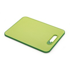 Joseph Joseph - Slice&Sharpen small chopping board with integrated sharpener in green