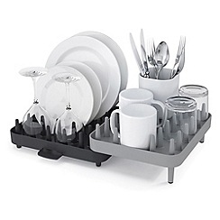 Joseph Joseph - Connect adjustable 3-piece dishrack in grey