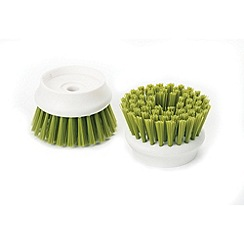 Joseph Joseph - Palm Scrub replacement brush heads pack of 2 in green