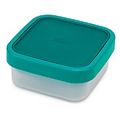 Joseph Joseph - Teal 'GoEat' space-saving 3-in-1 salad box