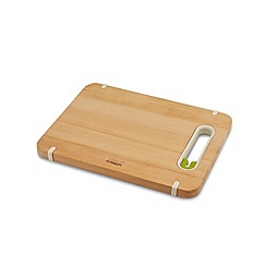 Joseph Joseph - Slice&Sharpen Wood small chopping board with integrated sharpener