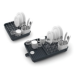 Joseph Joseph - 'Extend' expandable dish rack in grey