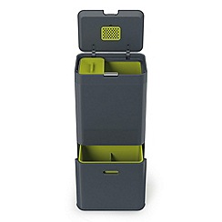 Joseph Joseph - Totem 60-litre waste separation and recycling unit in graphite