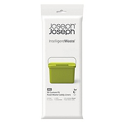 Joseph Joseph - Pack of 2 'Intelligent Waste' Totem custom fit compostable food waste caddy liners