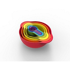 Joseph Joseph - Nest 8 piece food preparation set in multi-colour