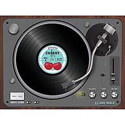 Joseph Joseph - Worktop Saver multi-purpose board with record player design