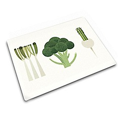 Joseph Joseph - Worktop Saver multi purpose board with green vegetable design