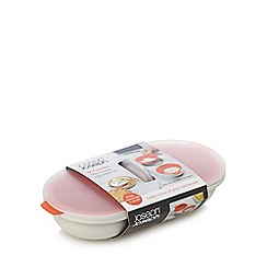 Joseph Joseph - M-Cuisine microwave egg poacher in stone and orange