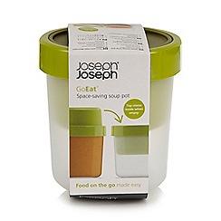Joseph Joseph - GoEat Space-saving soup pot in green