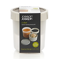 Joseph Joseph - GoEat space-saving soup pot in grey