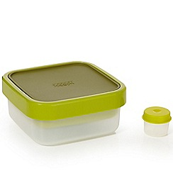 Joseph Joseph - GoEat space-saving salad box with salad-dressing pot in green