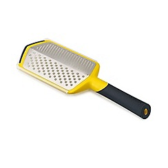 Joseph Joseph - Twist 2-in-1 etched grater with adjustable handle in yellow