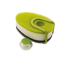 Joseph Joseph - Green 'Soapy-Sponge' soap dispensing dish sponge