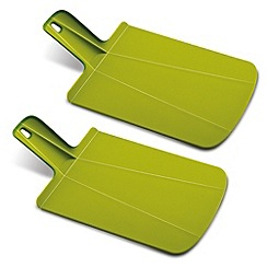 Joseph Joseph - Chop2Pot Plus folding chopping board twin pack