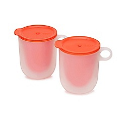 Joseph Joseph - Set of 2 'M-Cuisine' cool touch microwave mugs