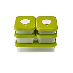 Joseph Joseph - Dial storage containers with datable lids 5 piece set