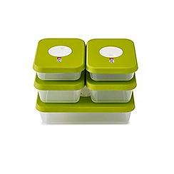 Joseph Joseph - Dial storage containers with datable lids 5 piece set