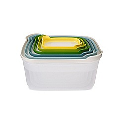 Joseph Joseph - 6-Piece Nest storage in opal